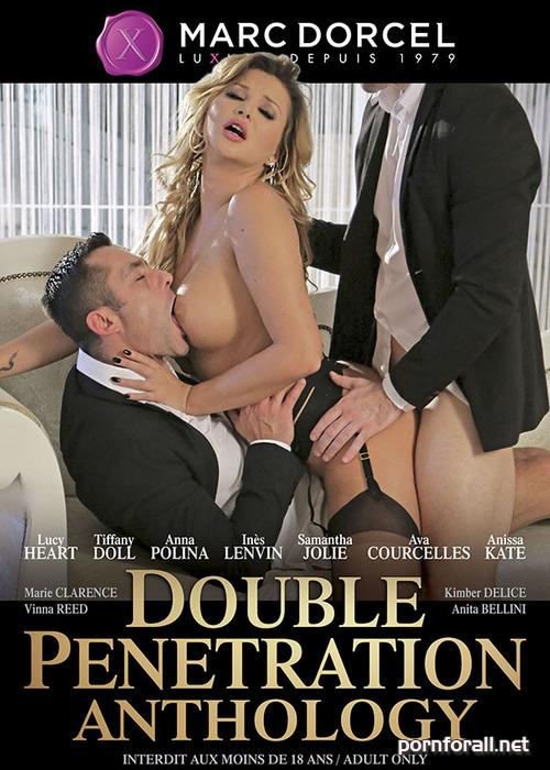 Double Penetration Anthology / Антология двойного проникновения (Herve Bodilis, Marc Dorcel) [2016 г., Compilation, Gonzo, Threesomes, Oral, Double Penetration, Lingerie, WEBRip 480p]