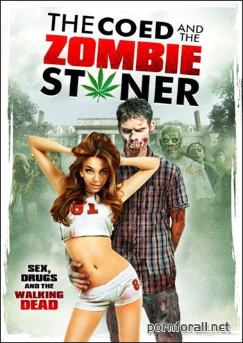 Студентка и зомбяк-укурыш / The Coed and the Zombie Stoner (2014) WEB-DLRip | Rus